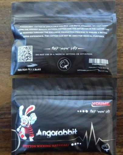 Angorabbit Cotton Wickelwatte