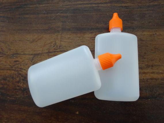 Liquid Dropper-Flasche, flach, 125ml