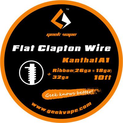 Geek Vape Flat Clapton, Kanthal A1