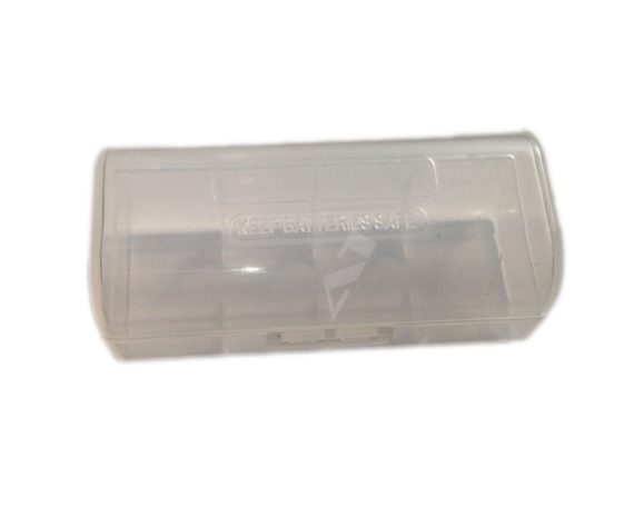Efest Aufbewahrungs Box für 1x 26650 Transparent