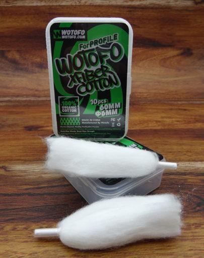 Wotofo Cotton Wattestrips Ø-6mm