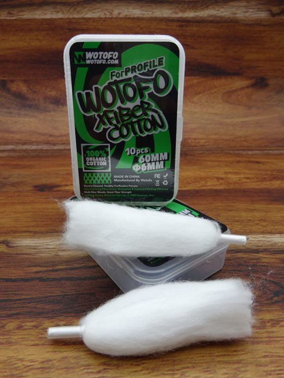 Wotofo Cotton Wattestrips Ø-6mm